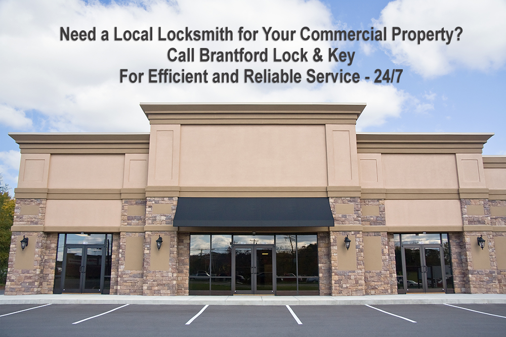 Commercial Locksmith - Brantford Lock & Key